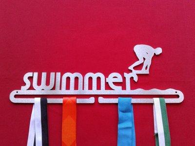 Zwemmer Man